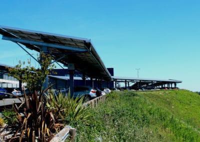 LIDL Photovoltaic carports – GENSUN