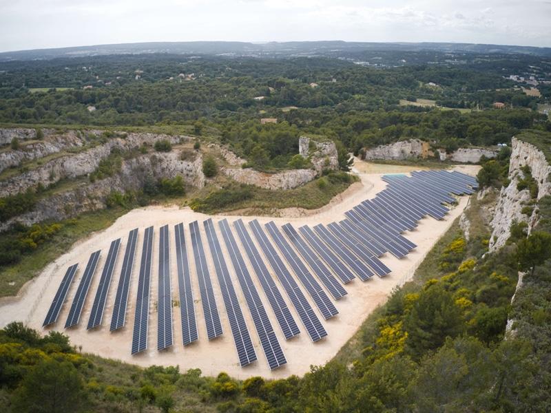 centrale solaire Aix-en-provence NEOEN - ©synapsun