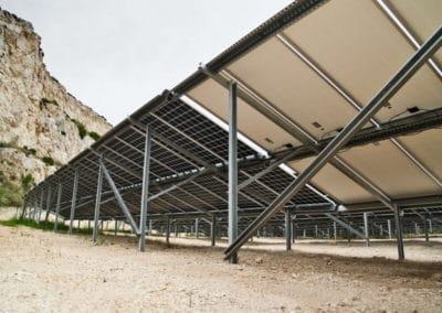 Centrale solaire table comparative bifaciaux vs monofaciaux centrale solaire aix en provence NEOEN - ©synapsun
