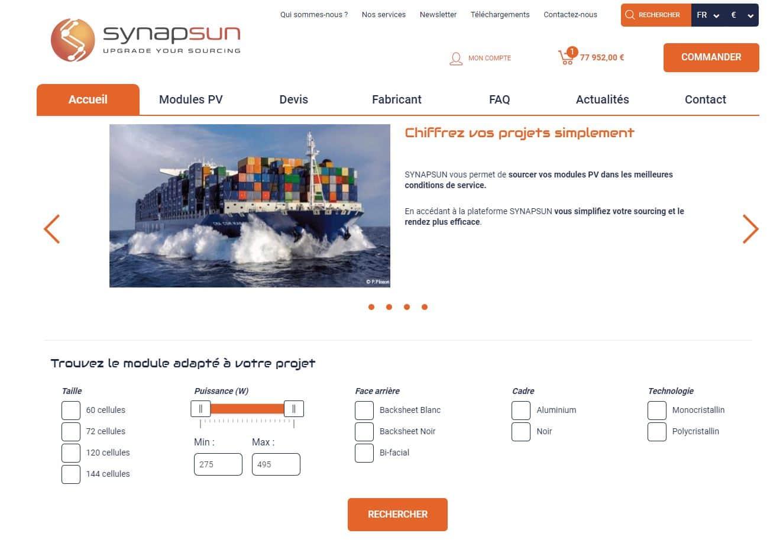 accueil portail synapsun