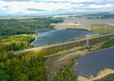 Solar power plant of Annet-sur-Marne – 17 MWc