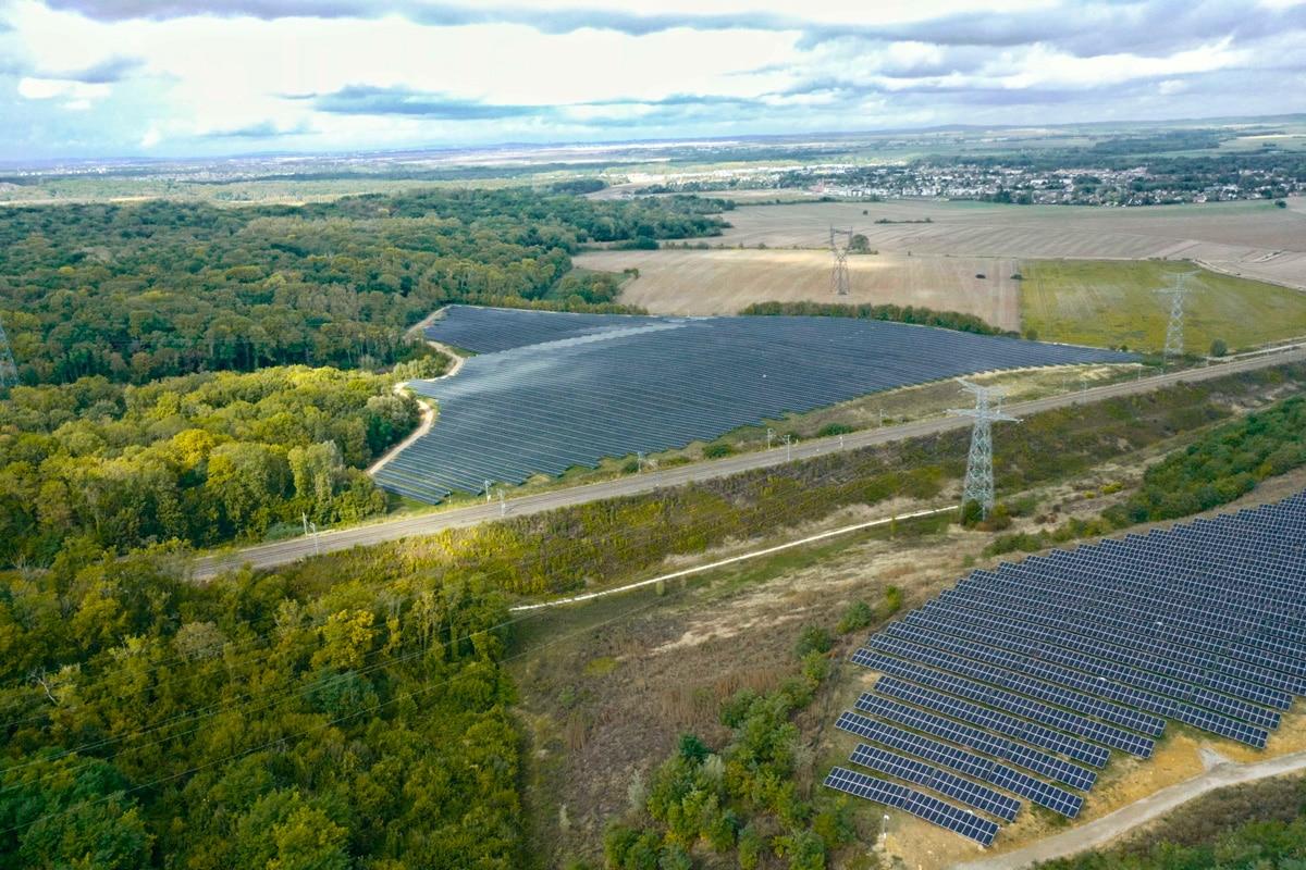 centrale solaire des Gabots Annet-sur-Marne