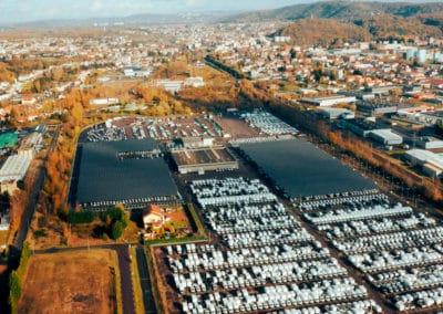 Photovoltaic carport – STVA Egerland – Coruscant Développement